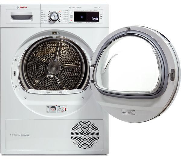 Tumble Dryer Temperature ~ Buy bosch serie wtw gb heat pump tumble dryer