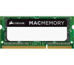 Image of CORSAIR DDR3 1600 MHz Mac RAM - 8 GB