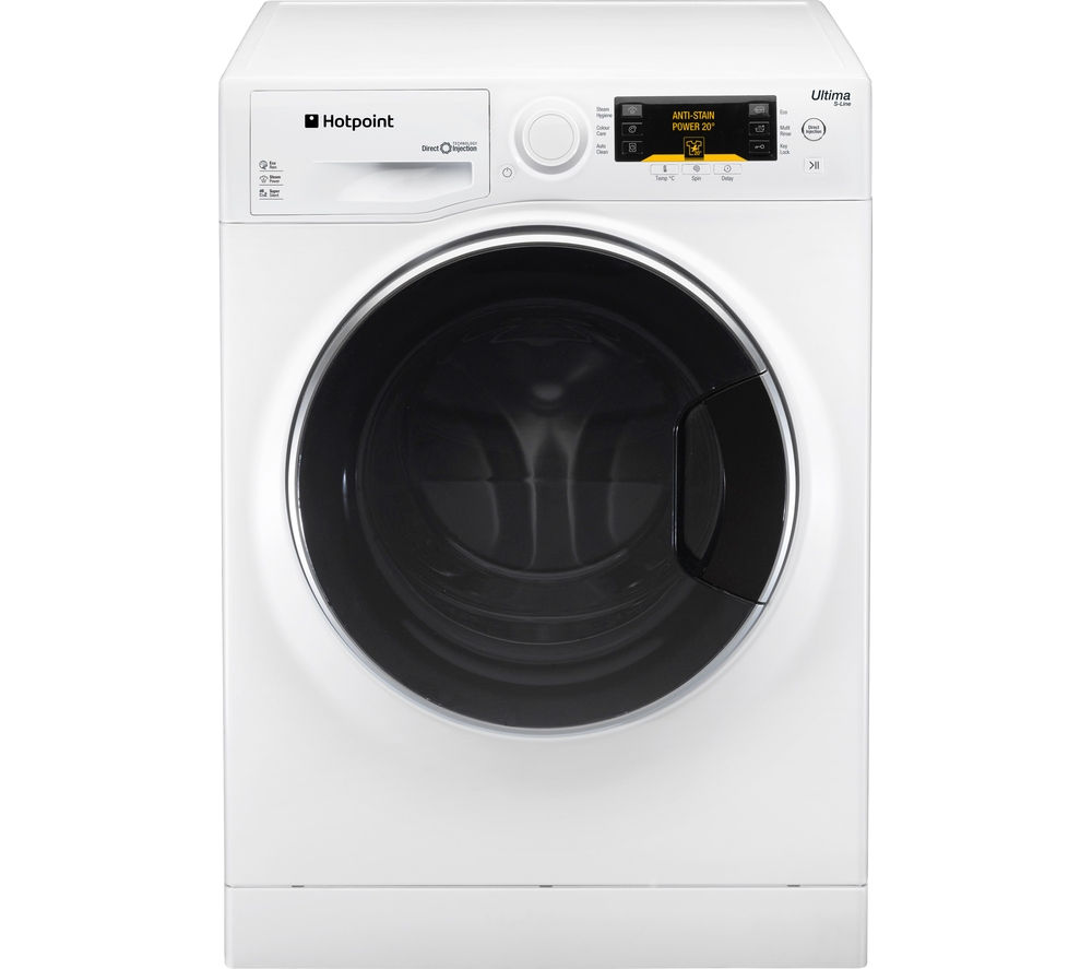 HOTPOINT Ultima S-Line RPD10667DD Washing Machine - White
