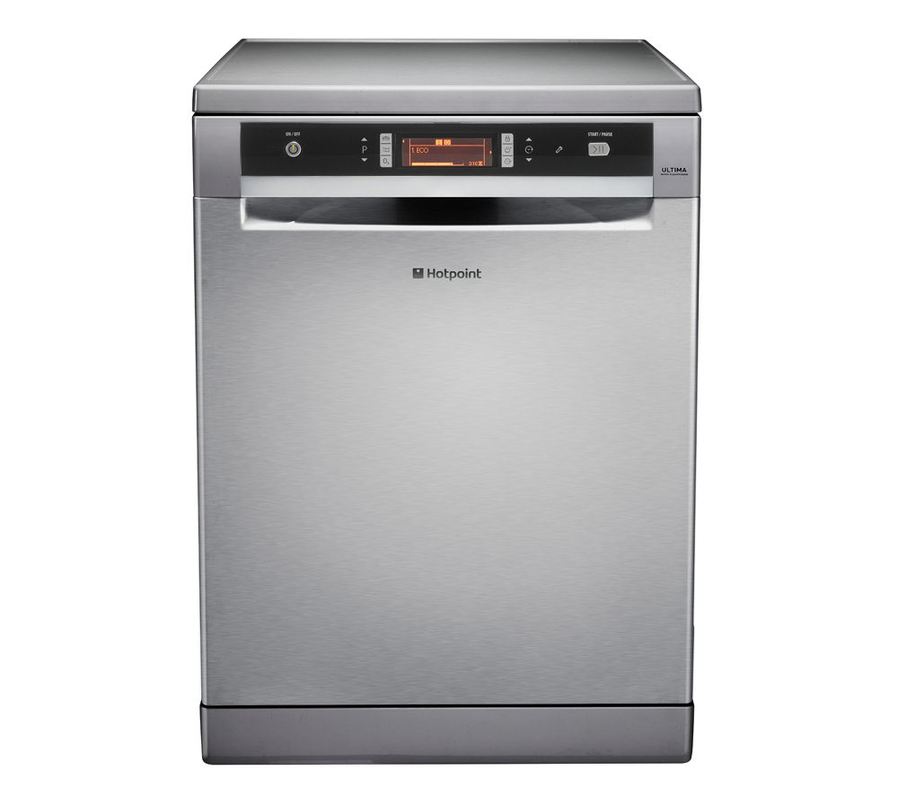 HOTPOINT  Ultima FDUD 43133X Full-size Dishwasher – Stainless Steel, Stainless Steel