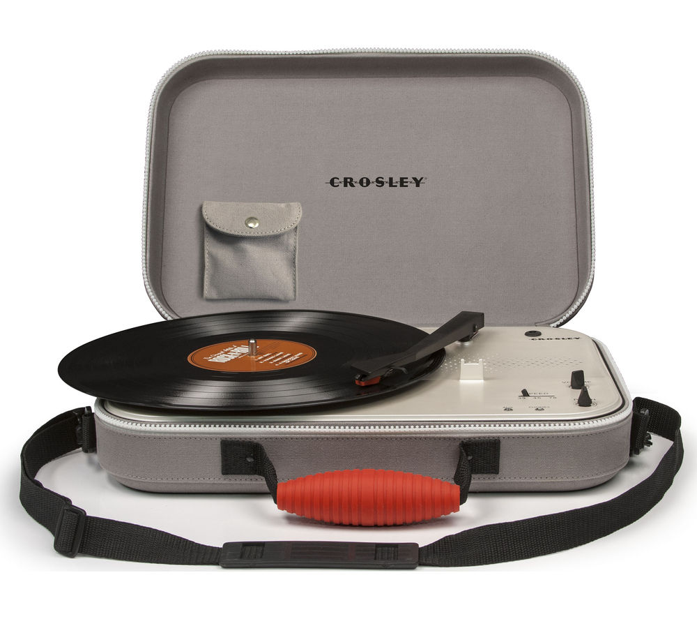 CROSLEY Messenger Portable Turntable - Grey