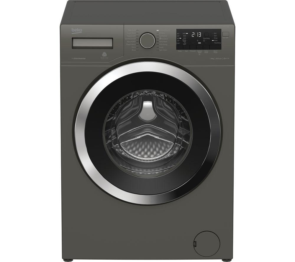 BEKO WX943440G Washing Machine - Graphite