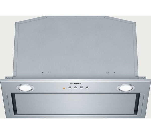 Image of BOSCH Serie 6 DHL575CGB Canopy Cooker Hood - Stainless Steel
