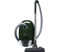 MIELE Compact C2 Excellence Ecoline Cylinder Vacuum Cleaner - Racing Green