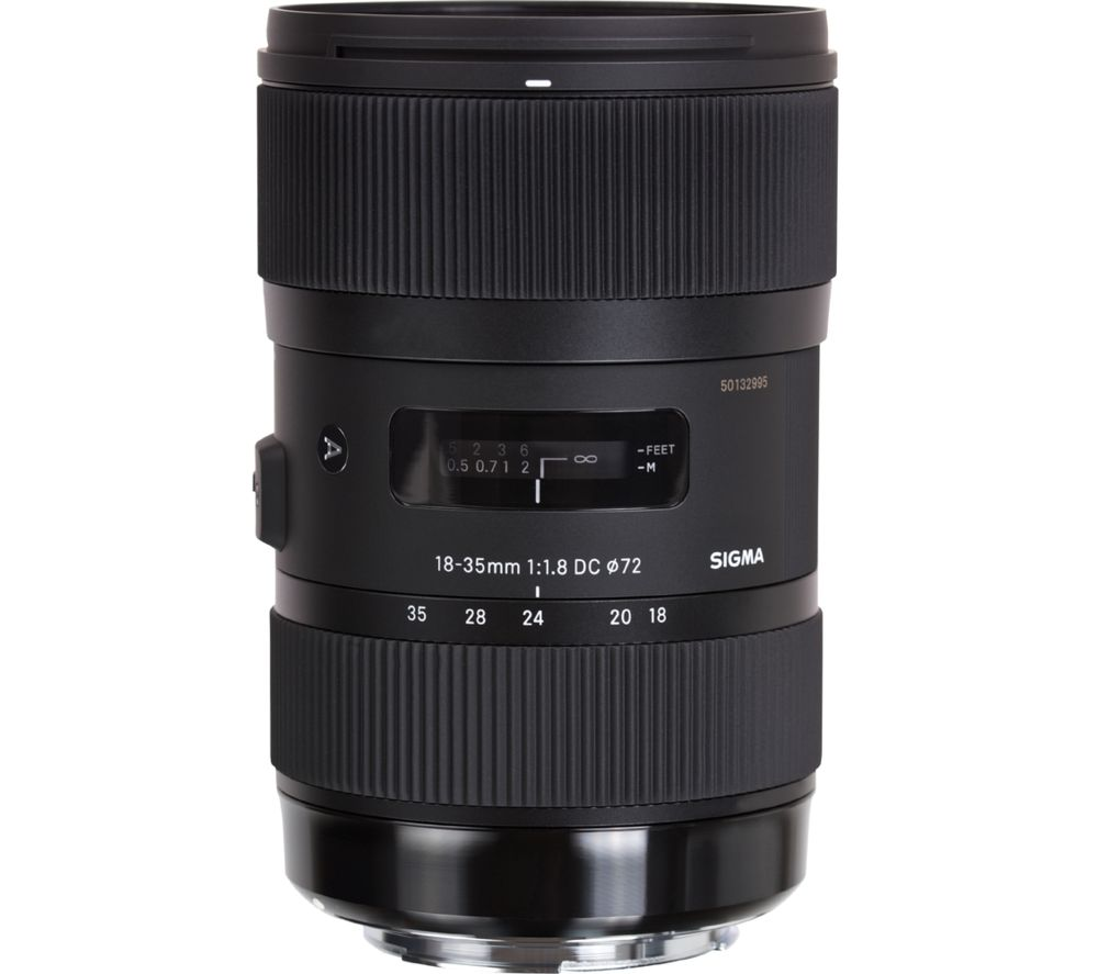 SIGMA 18-35 mm f/1.8 DC HSM Standard Zoom Lens - for Canon