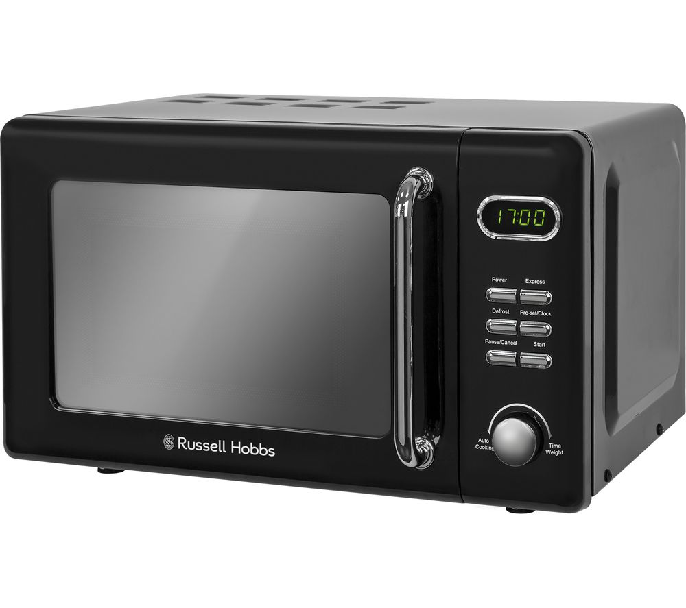 RUSSELL HOBBS RHRETMD706B Compact Solo Microwave - Black