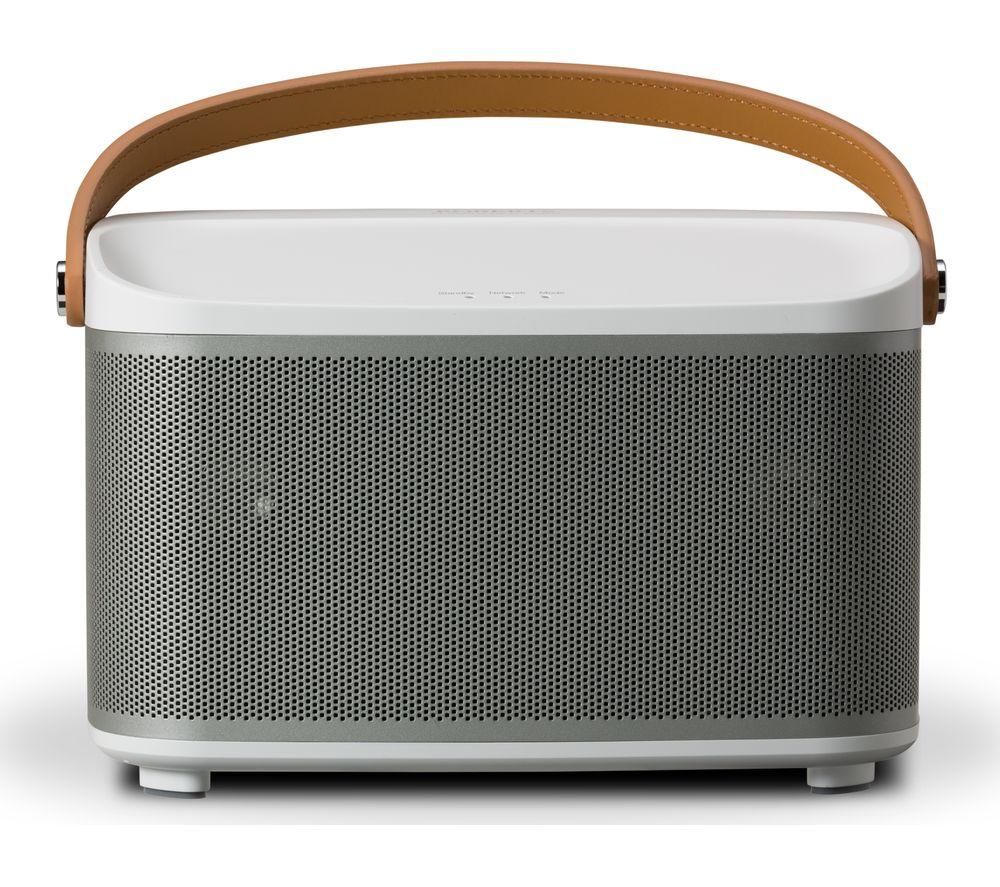 Image of ROBERTS R-Line R1 Wireless Smart Sound Multi-Room Speaker - White, White