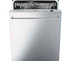 SMEG DI614PSS Full-size Semi-integrated Dishwasher - Stainless Steel