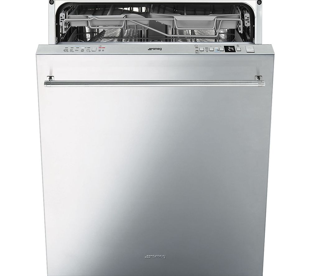 Compare prices for Smeg DI614PSS Full-size Semi-integrated Dishwasher Stainless Steel