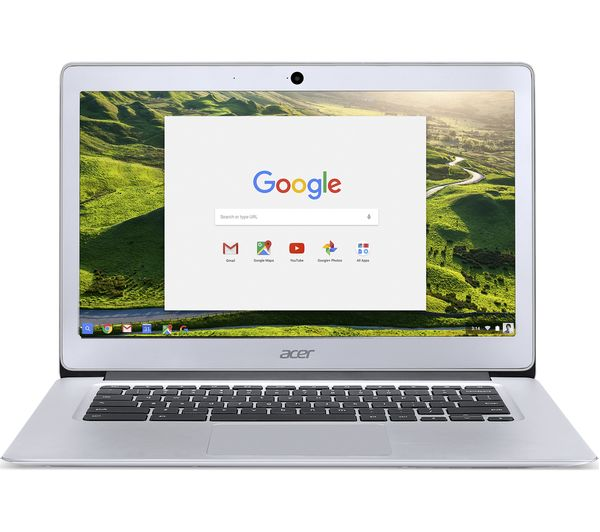 "Image of ACER 14 CB3-431 14"" Intel® Celeron™ Chromebook - 32 GB eMMC, Silver"