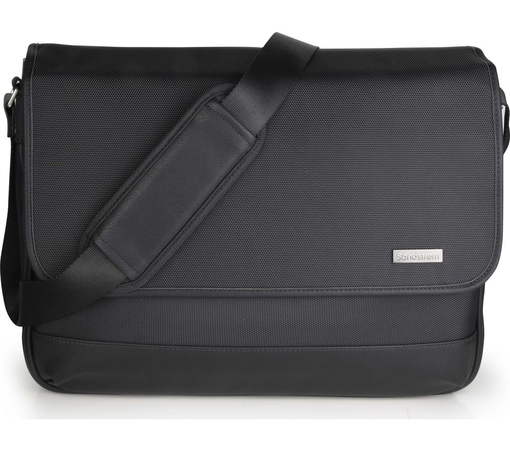 Compare prices for Sandstrom S16PMSB17 15.6 Inch Laptop Messenger Bag