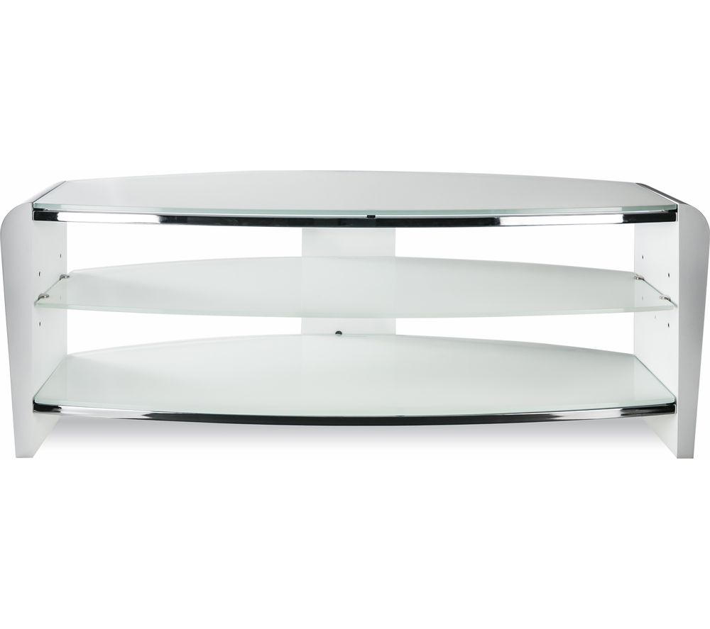 ALPHASON Francium 1400 TV Stand - White