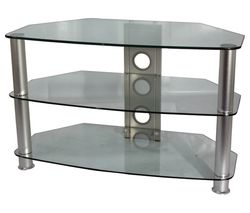 VIVANCO Brisa 1000 C TV Stand - Clear