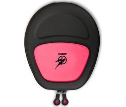PORT DESIGNS Arokh Universal Gaming Headset Case - Pink & Green