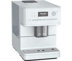 MIELE CM 6150 Bean to Cup Coffee Machine - Brilliant White Best Price, Cheapest Prices