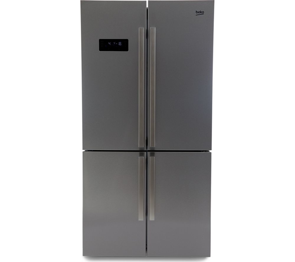 BEKO GN1416221ZX American-Style Fridge Freezer - Stainless Steel