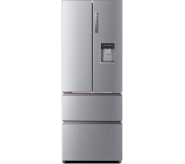 Image of HAIER HB16WMAA 60/40 Fridge Freezer - Stainless Steel