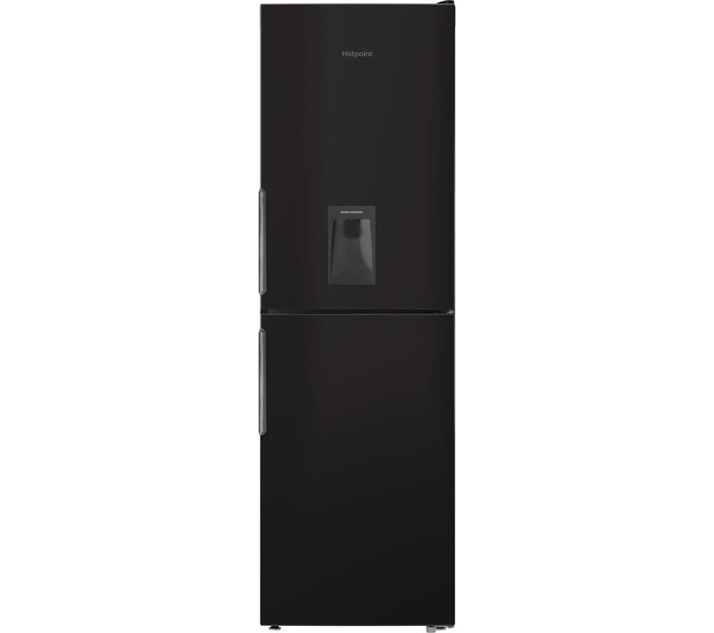 HOTPOINT XAL85 T1I K WTD 50/50 Fridge Freezer - Black