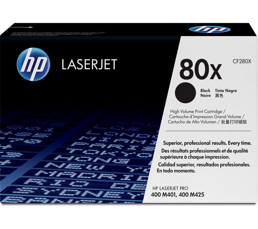 HP 80X Black Toner Cartridge