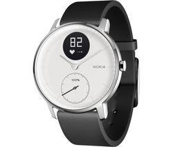 NOKIA Steel HR 36 Fitness Watch - White, Small