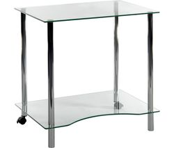 TEKNIK Crystal Workstation 83428-06 Work Centre - Clear Glass