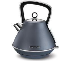 MORPHY RICHARDS Evoke Premium Traditional Kettle - Steel Blue