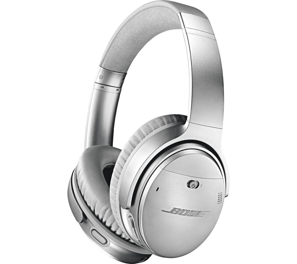 BOSE QuietComfort QC35 II Wireless Bluetooth Noise-Cancelling - Silver, Silver