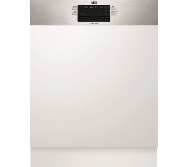 Image of AEG AirDry Technology FEB52600ZM Full-size Integrated Dishwasher