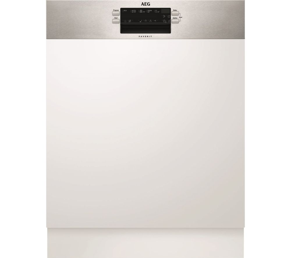 AEG AirDry Technology FEB52600ZM Full-size Integrated Dishwasher
