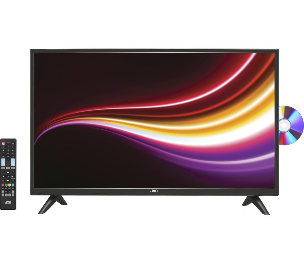 "32"" JVC LT-32C485 LED TV with Built-in DVD Player, Gold Review thumbnail"