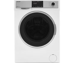 SHARP ES-HDB9147W0 9 kg Washer Dryer - White
