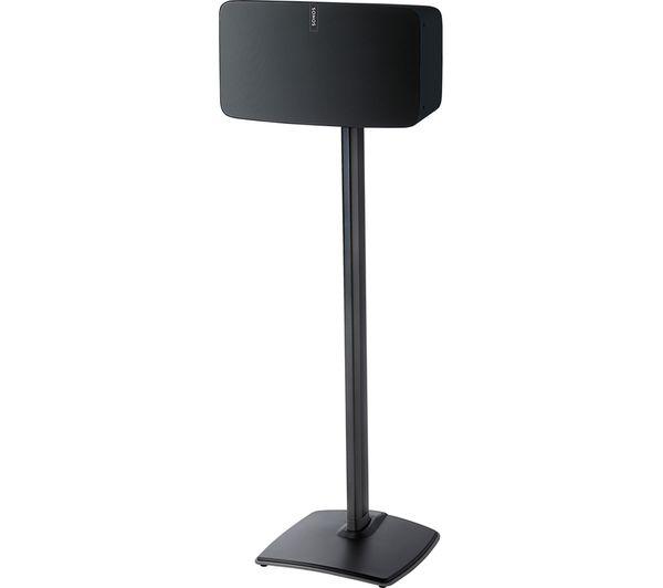 Image of SANUS WSS51-B2 SONOS Speaker Stand - Black