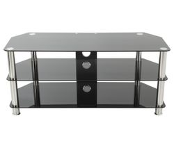 AVF SDC1000CM TV Stand - Black & Chrome
