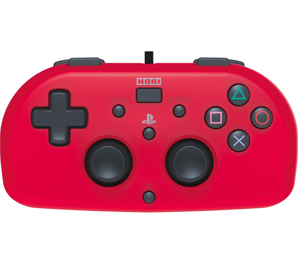 Compare prices for HRR HORI Mini Gamepad - Red