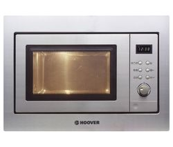 HOOVER HMG201X Built-in Compact Microwave with Grill - Stainless Steel