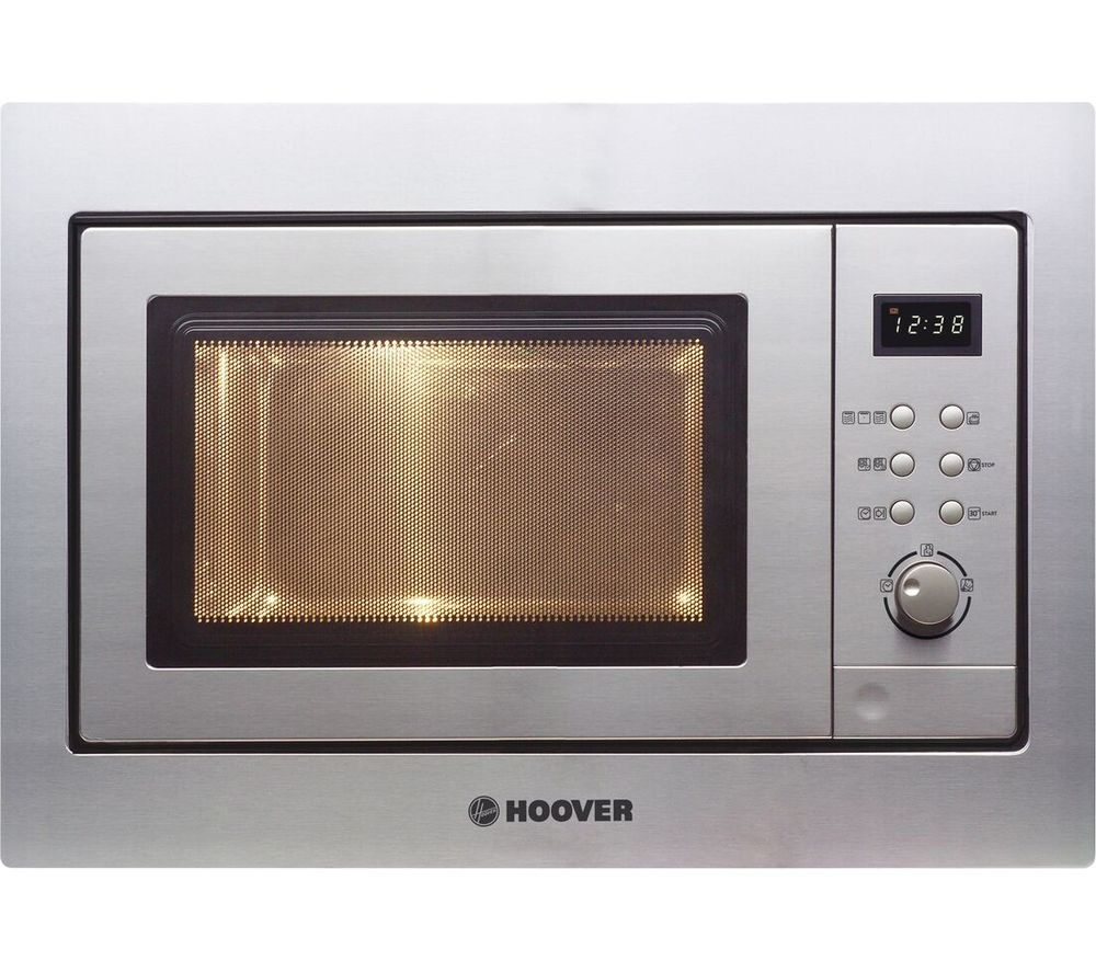 Hoover Hmg201x Built In Compact Microwave With Grill Stainless Steel