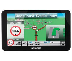 "SNOOPER Truckmate S6810 HGV 7"" Sat Nav with Case - Full Europe Maps"