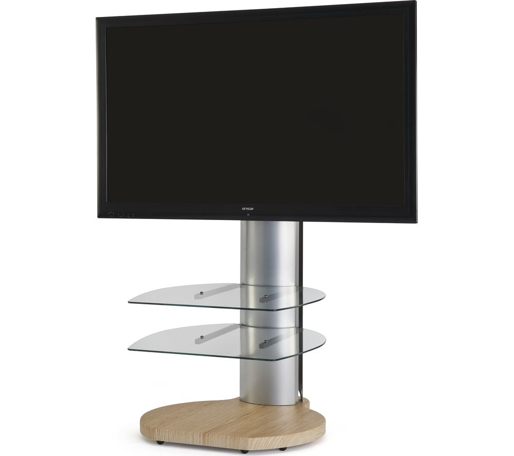 OFF THE WALL Origin II S4 500 mm TV Stand with Bracket - Light Wood