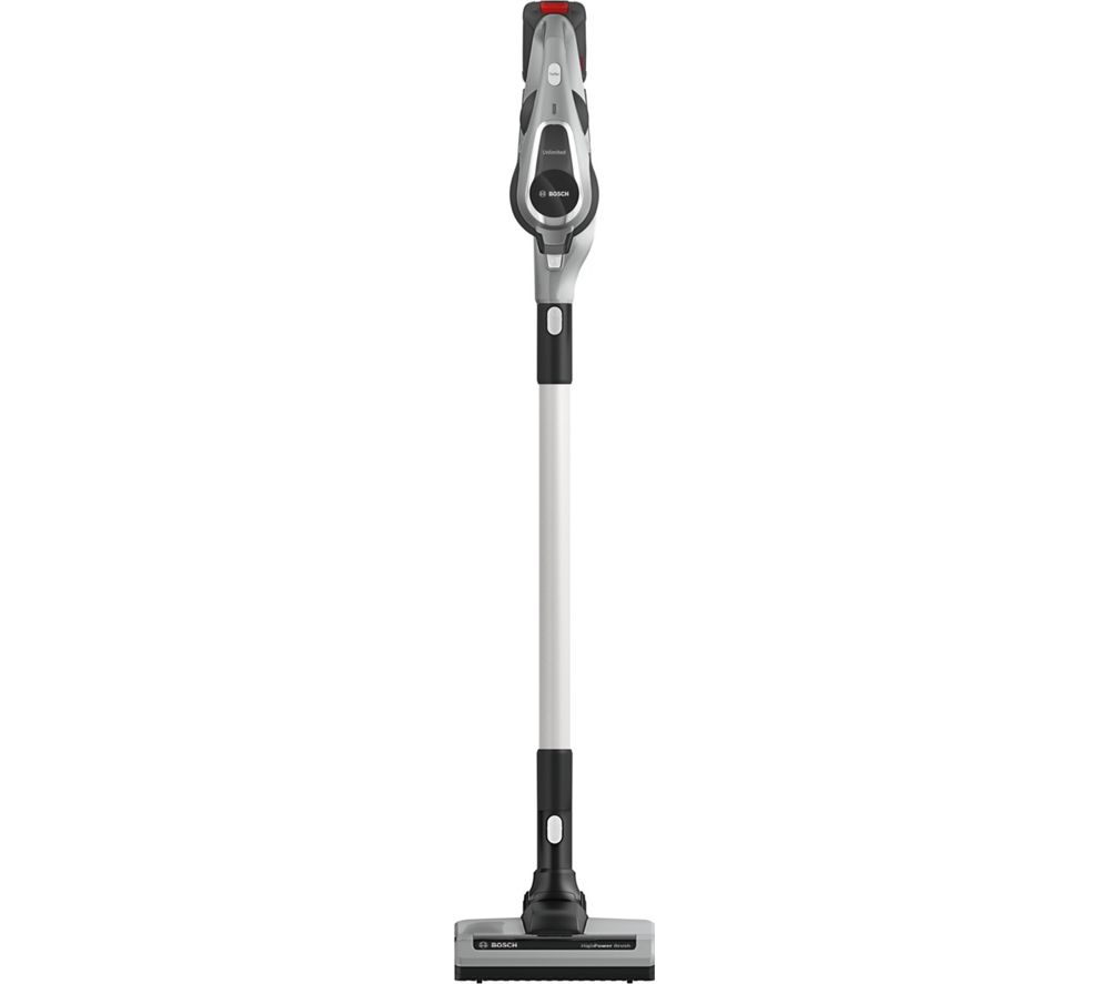 Image of BOSCH Unlimited BCS111GB Cordless Vacuum Cleaner - Silver, Silver
