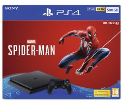 SONY PlayStation 4 with Spider-Man - 500 GB