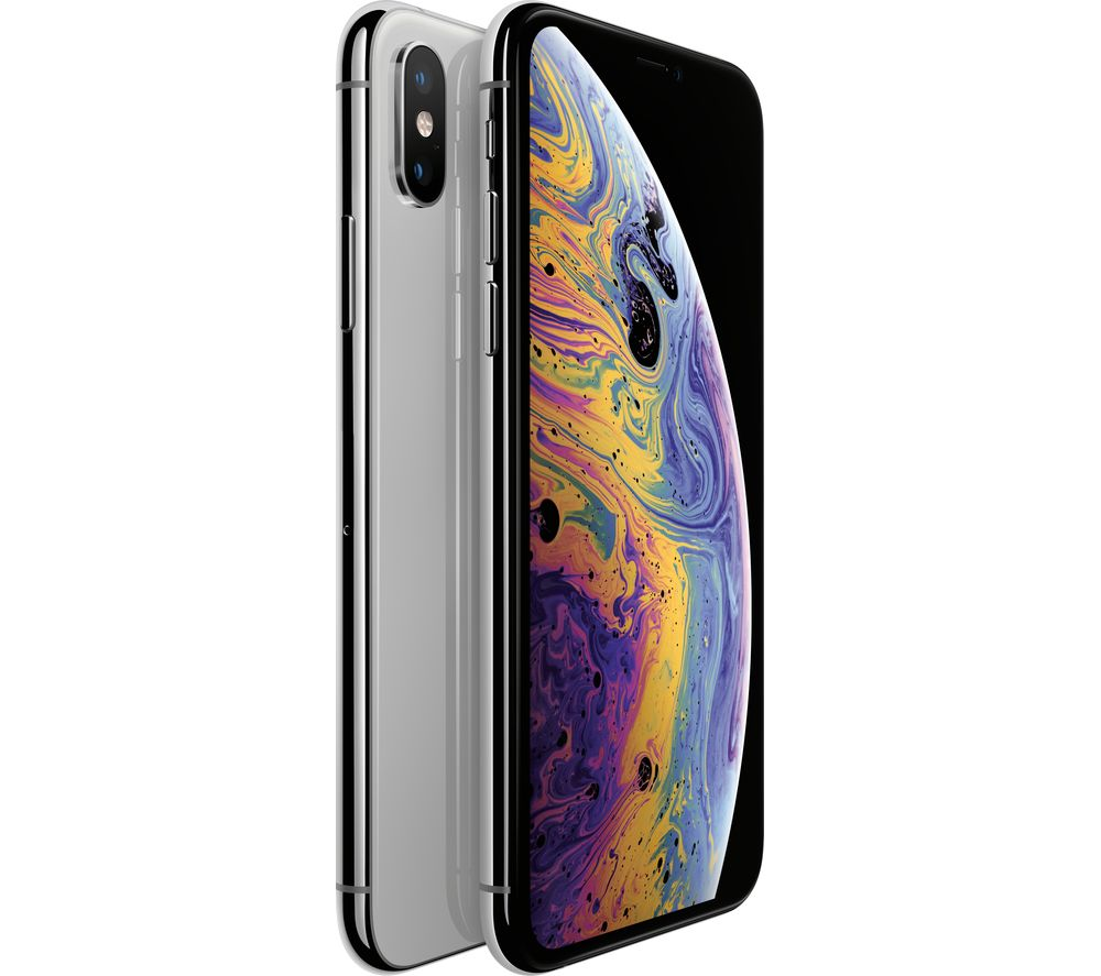 APPLE iPhone Xs - 512 GB, Silver, Silver cheapest retail price