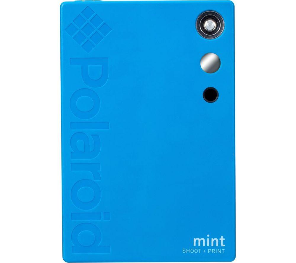 Image of POLAROID Mint Digital Instant Camera - Blue, Blue