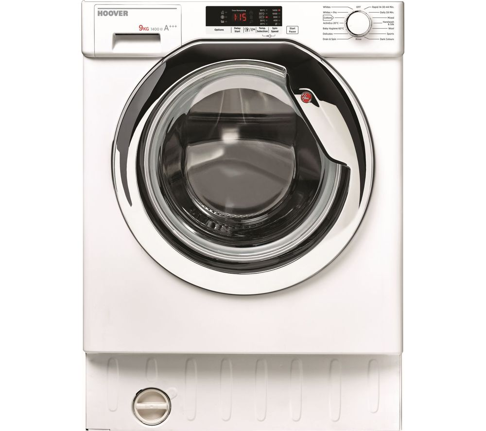 HOOVER H-WASH 300 HBWM914SC Integrated 9 kg 1400 Spin Washing Machine