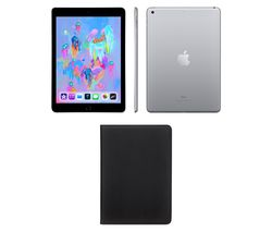 "APPLE 9.7"" iPad - 32 GB, Space Grey (2018)"