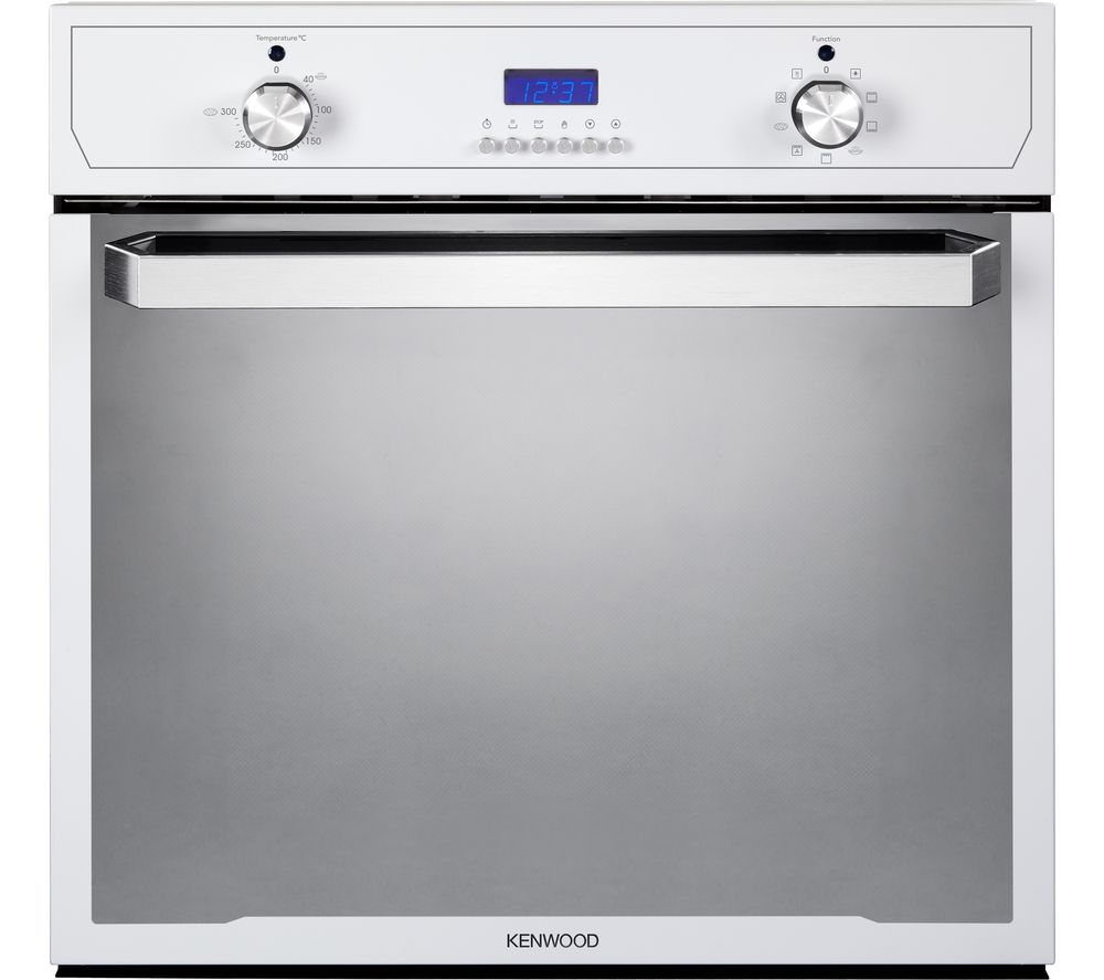 KENWOOD KS101WH-1 Electric Oven - White & Stainless Steel, White