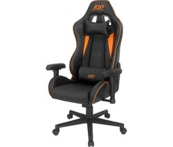 Race19 Gaming Chair - Black & Orange