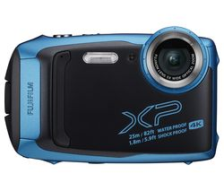 FUJIFILM FinePix XP140 Tough Compact Camera - Sky Blue