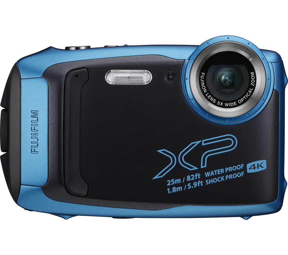 Click to view product details and reviews for Fujifilm Finepix Xp140 Tough Compact Camera Sky Blue Blue.