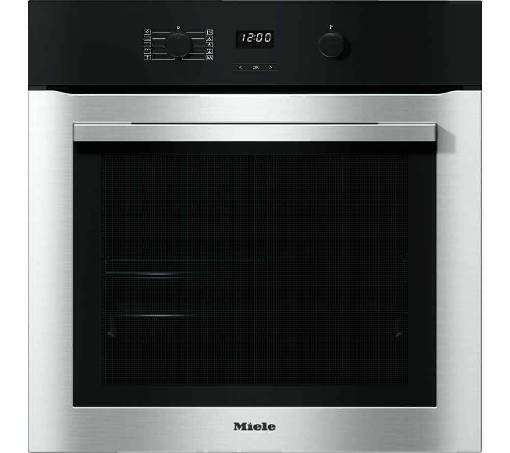 Image of H2760B Electric Oven - Steel, Red