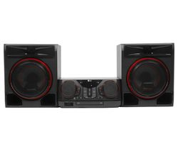 CK56 XBOOM Bluetooth Megasound Party Hi-Fi System - Black